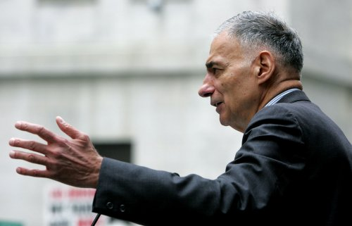 Nader gives Obama an 'F' for first year