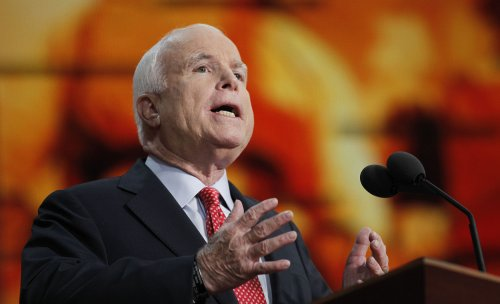 McCain campaigns for Senate candidates
