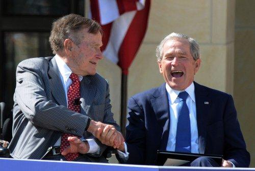 President George W. Bush pens biography of George H.W.