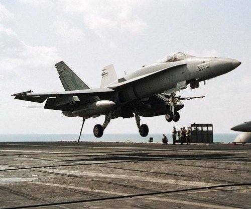 Navy tests software for automated carrier landing capability