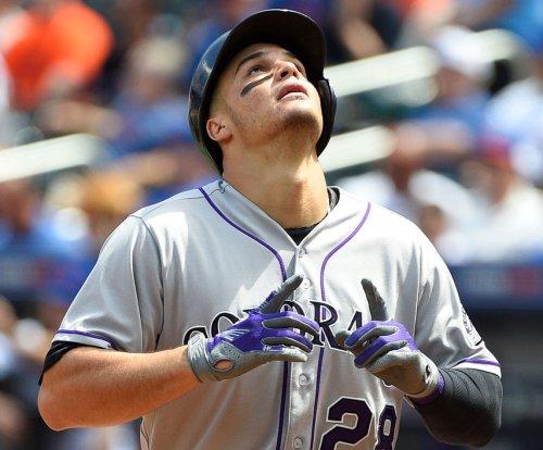 Colorado Rockies complete three-game sweep of Los Angeles Dodgers