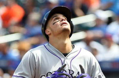 Colorado Rockies complete three-game sweep of Los Angeles Dodgers