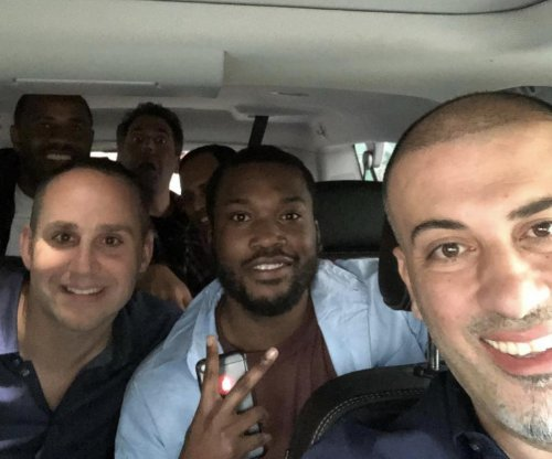 Meek Mill attending Sixers playoff game hours after release from prison