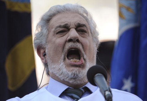 Placido Domingo honored in Russia