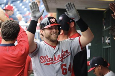 Nationals' Spencer Kieboom hits first HR after losing tooth