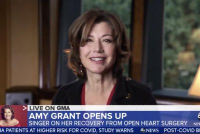 Amy Grant feels 'fantastic' 8 months after open-heart surgery