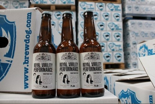 Aphrodisiac beer created for royal wedding