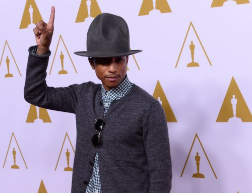Pharrell Williams auctioning off his iconic hat for charity