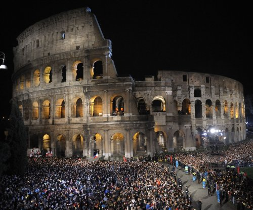 A new floor for Rome's Colosseum proposed