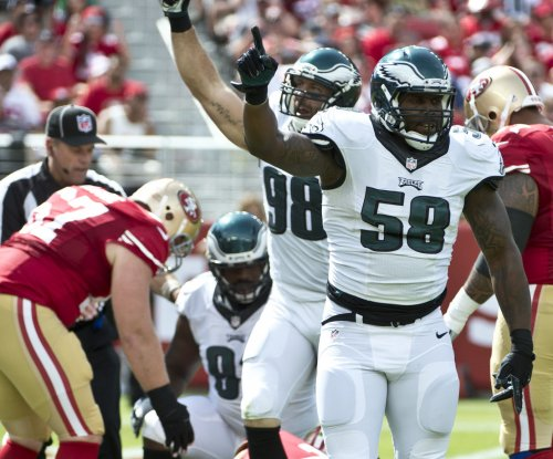 Philadelphia Eagles' Cole ruled out for Saturday