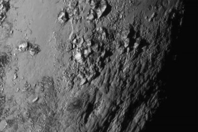 NASA releases first historic Pluto flyby images