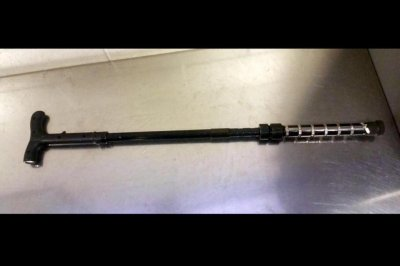 TSA seizes cane that delivers 1,000,000-volt shock