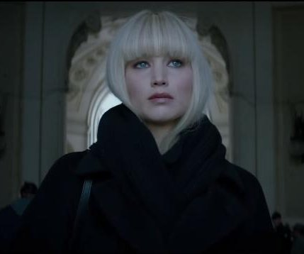 Jennifer Lawrence is a deadly secret agent in first 'Red Sparrow' trailer