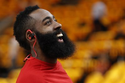 Rockets' James Harden sinks dagger trey in Kyrie Irving's face