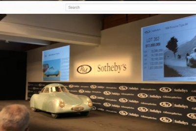 Historic Type 64 'Porsche' fails to sell after auction snafu