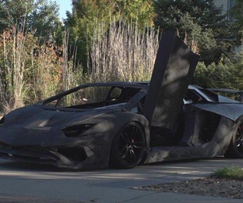 Colorado father and son make their own Lamborghini with 3D printer