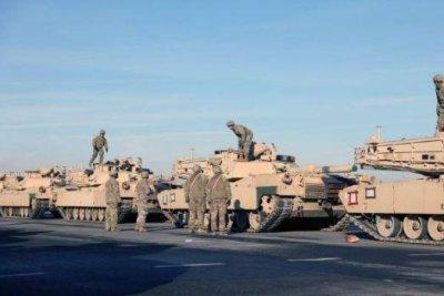U.S. Army's Atlantic Resolve troops start rotation in Europe