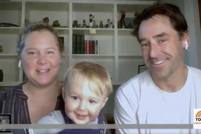 Amy Schumer, son Gene appear on 'Today' after his first birthday