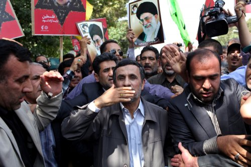 Last Quds Day for President Ahmadinejad
