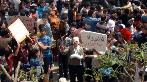 Syrian polls open; some violence reported