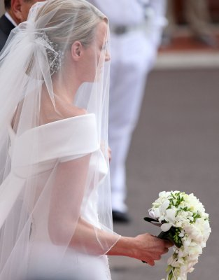 Princess Charlene denies she was a reluctant bride
