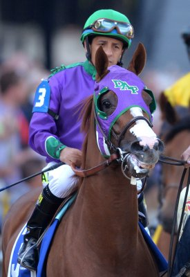 California Chrome seems eager for Triple Crown try