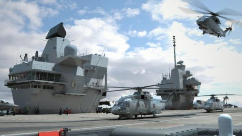 Britain, Lockheed pick airborne surveillance system for aircraft carriers