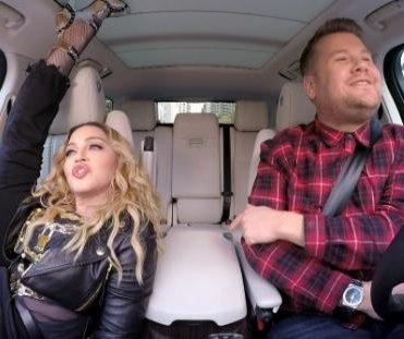 Madonna sings classic songs, talks kissing Michael Jackson on Carpool Karaoke