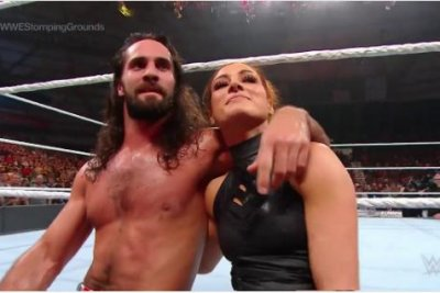 WWE Stomping Grounds: Becky Lynch helps Seth Rollins stay