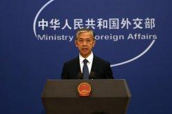 China denies wrongdoing, confrontation after Blinken speech