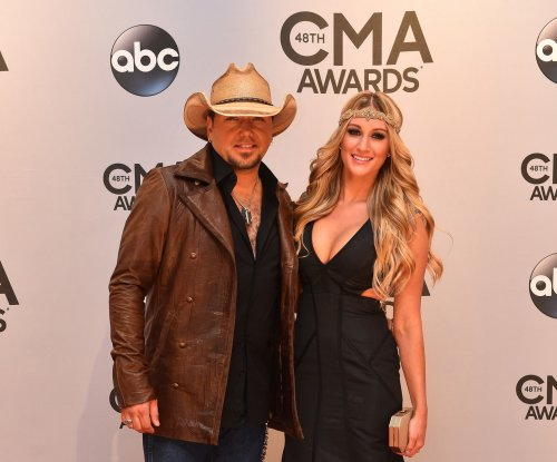 Jason Aldean calls wedding to Brittany Kerr 'best day ever'