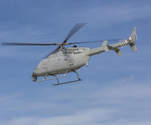 Unmanned helo sets endurance record