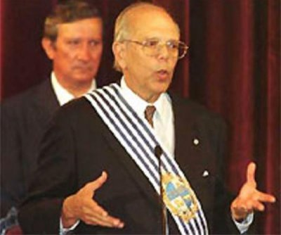 Ex-Uruguay President Jorge Batlle dies at 88 from head injury
