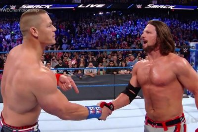WWE Smackdown: John Cena returns, AJ Styles survives Triple Threat match
