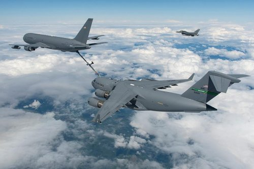 Boeing, U.S. military finish EMP testing on KC-46 tanker