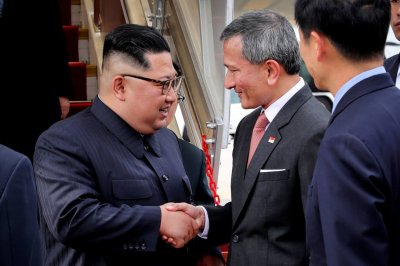Trump, Kim arrive in Singapore ahead of N.K.-U.S. summit
