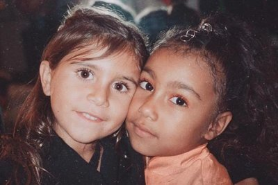 Kim Kardashian posts photo of 'besties' North, Penelope