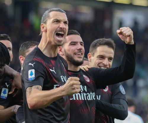 Zlatan Ibrahimovic scores first goal of AC Milan return