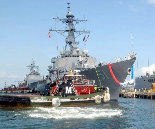 USS Arleigh Burke deploys to Rota, Spain, its new home port