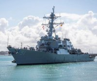 Destroyer USS Arleigh Burke joins 6th Fleet at Rota, Spain