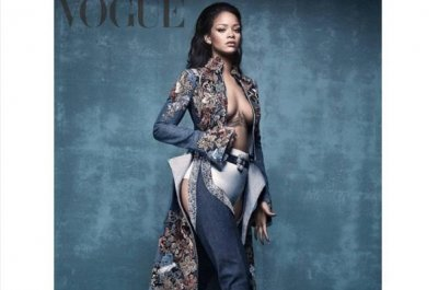 Rihanna to release denim shoe collection with Manolo Blahnik