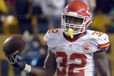 Kansas City Chiefs QB Alex Smith, RB Spencer Ware inactive vs. Jacksonville Jaguars