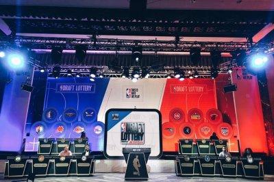 Boston Celtics win draft lottery; Los Angeles Lakers get No. 2 pick