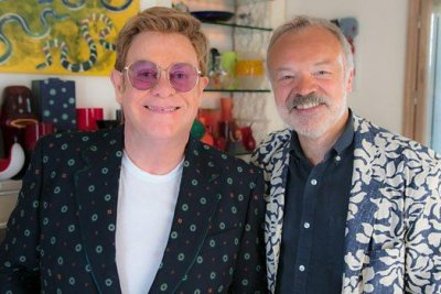 Graham Norton interviews Elton John for BBC doc