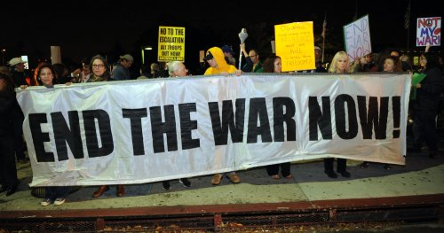 Commentary: Now a pointless war?