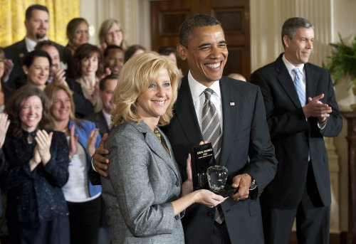 Obama honors Teacher of the Year