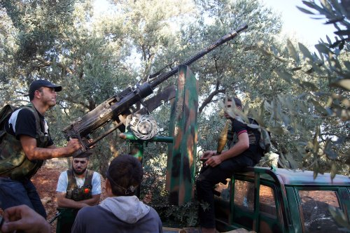 Rights group: IS and Nusra Front, former rivals, team up against moderates in Idlib