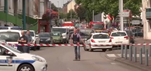 Knife-wielding men take hostages in Normandy church, kill priest