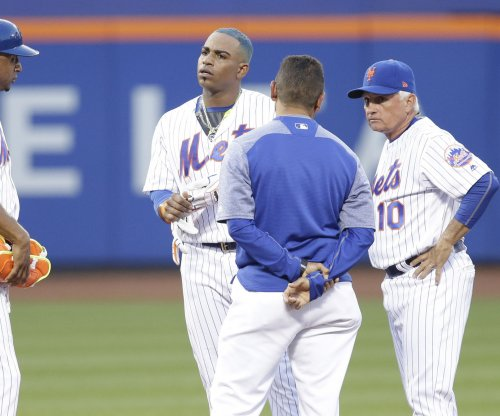 New York Mets OF Yoenis Cespedes (hamstring) out for season