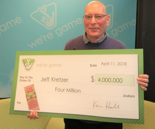 Lottery ticket forgotten in drawer turns out to be worth $4 million